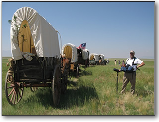 wyoming wagon train